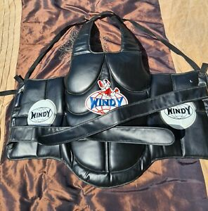 Windy Boxing Chest Guard Protector Kickboxing MMA Body Armour Shield Training