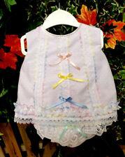 DREAM 0-5 YEARS baby girls rainbows angel top frilly pants  reborn dolls