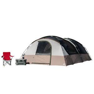 20-Person Tunnel Tent Backyard Camp Hazel Creek Lightweight Home Family Camping