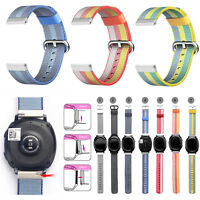 New Royal Woven Nylon Wrist Band Strap for Samsung Gear Sport SM-R600 Watch 20mm
