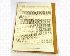 Virnex HO Decals Gold 1/16 Inches Bold Gothic Letter Set 2009 Alphabet