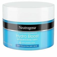 3 Pack Neutrogena Hydro Boost Hydrating Whipped Body Balm, 6.7 oz each