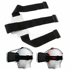 1Pc Elastic Replacement Headstrap White Pad F/ VR-Box Virtual Reality 3D Glasses
