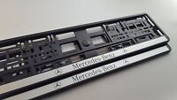 2x Portamatriculas Mercedes Benz (w204,w211,w205,w117,w221,w176,w163,w164,w220)