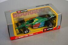 Burago 1/24 Benetton Ford - 6102 - Die-Cast Racing Car Scale Modell Auto NEU OVP