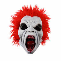 Adult Mens Return of Living Dead Trash Red Zombie Halloween Costume Latex Mask