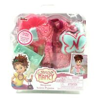"Fancy Nancy Sleepover Pajama Accessory Fits Most 10"" Dolls 4 Piece Set"