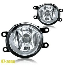 For Lexus Scion Toyota Clear Lens Chrome Housing Replacement Fog Lights Lamps