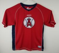 Dynasty Anaheim Angels Men's Large L Embroidered Jersey Baseball MLB Red