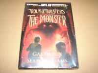 Troubletwisters - The Monster by Garth Nix Unabridged MP3 CD Audio Book - NEW