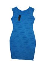 Jane Norman Blue Shift Bodycon Dress