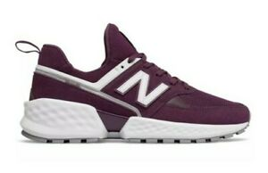 NEW Men's (SELECT SZ) NEW BALANCE 574 Sport Shoes Purple / White MS574NSC