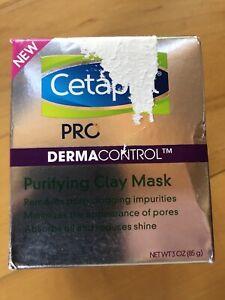 NEW!! Cetaphil Pro DERMACONTROL Purifying Clay Mask 3oz Damaged Box