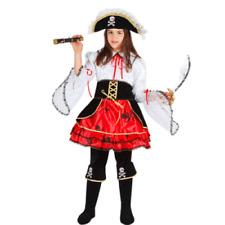 Vestito Costume La Pirata Dei Caraibi 5/6 anni Carnevale Pegasus Party Piratessa