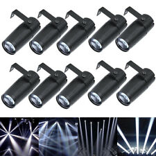 10x  U`King10W Mini LED Beam Spotlight Stage Lighting DJ Club Disco Party Light