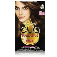 Garnier Olia Brilliant Permanent Color, Light Neutral Brown [6.03] 1 ea