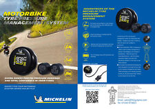 Michelin Wireless Tyre Pressure Monitoring System for Motorcycle Motorbikes