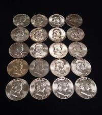 Original Franklin Roll UNC    1952-P Silver 50 c   20 Coins   BU (VD.FH.1952P)