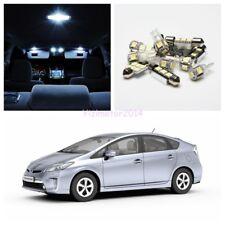 11x Xenon White LED bulbs Interior Light Package Kit for 2004-2014 Toyota Prius