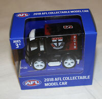 St Kilda Saints 2018 AFL Official Supporter Collectable Mini Truck Model New