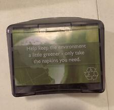 Napkin Dispenser with Advertisement Slot