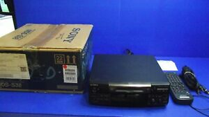 Sony Minidisc MDS-S38 - With Remote and Original Box - Free Postage