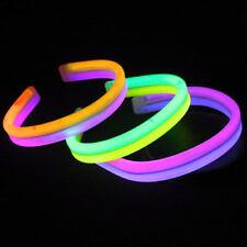 40 8 Inch Glow Bracelets TWISTER Light Sticks Free Ship