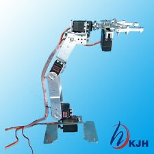 6Axis Fully Assembled Mechanical Robotic Arm Clamp Claw For Arduino Raspberry
