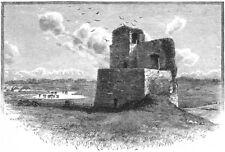 IRELAND. Kilcolman Castle 1888 old antique vintage print picture