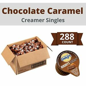 International Delight Hershey's Chocolate Caramel Coffee Creamer Singles 288 ct.