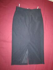 Yessica classic long black skirt size 16 on label but smaller