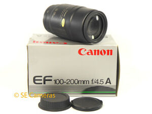 CANON EF 100-200MM F4.5 A ZOOM LENS LENS *MINT CONDITION*