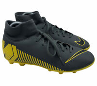 Nike Mens Mercurial Superfly 6 Club Soccer Cleats AH7363 070 Grey/Yellow Size 7