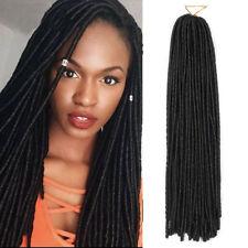 15'' 30strands Faux Locs Dreadlocks Crochet Braids Synthetic Hair Extensions