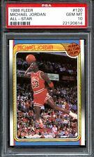 1988 Fleer All-Star #120 Michael Jordan PSA 10 Gem Mint Tough Card