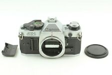 [EXC+5] Canon AE-1 Program Silver Body 35mm SLR Film Camera From Japan