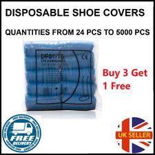 Blue Disposable Overshoes Disposable Shoe Covers Shoe Protectors 100 / 200 /500