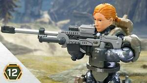 Mega Construx Halo Infinite 2020 Series 12 MARINE SNIPER Female 27pcs GNB16 New