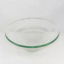 Replacement Glass Dish Aroma Lamp Wax Tart Oil Warmer Clear 4 1/2 inch