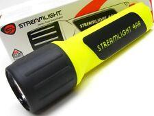 STREAMLIGHT Yellow PROPOLYMER 4AA White LED Flashlight Light + Lanyard! 68200