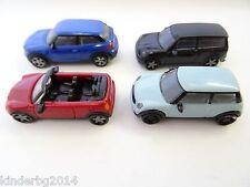 collectible set BMW MINI COOPER MODEL CARS 1:87 H0 Plastic miniatures Kinder EU