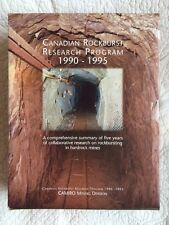 Canadian Rockburst Research Program 1990-1995 Vol 1-6 (Camiro Mining)