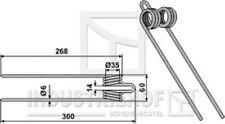 Federzinken, (Schnellheuer)  L x B x S:  300/268 x 60 x 6 mm  für PZ-Zweegers ..