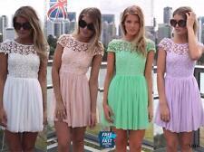 Unbranded Cap Sleeve Cowl Neck Short/Mini Dresses