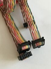 2x 2.54mm Pitch10 Pin Wire 3.3ft Twisted Rainbow IDC Flat Ribbon Cable Connector