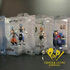 KINGDOM HEARTS Select Series 2 SET of THREE Action Figure Sets Diamond Select!