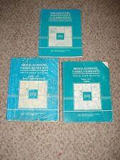 1991 FORD TRUCK BRONCO SHOP MANUAL SET ORIGINAL SERVICE BOOKS SUPER DUTY F150