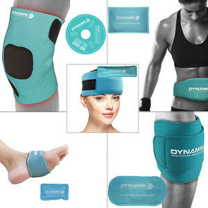Dynamik Luxury Reusable Hot/Cold Pack with Neoprene Wrap for Pain Relief