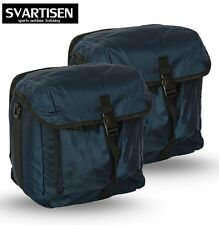 2x Fahrradtasche Gepäckträger doppelte Fahrrad Gepäck Tasche für Gepäckträger