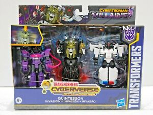 Transformers Cyberverse - Quintesson Invasion - Target exclusive - Hasbro 2019
